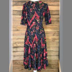 LuLaRoe Dresses - LuLaRoe Nicole floral print dress